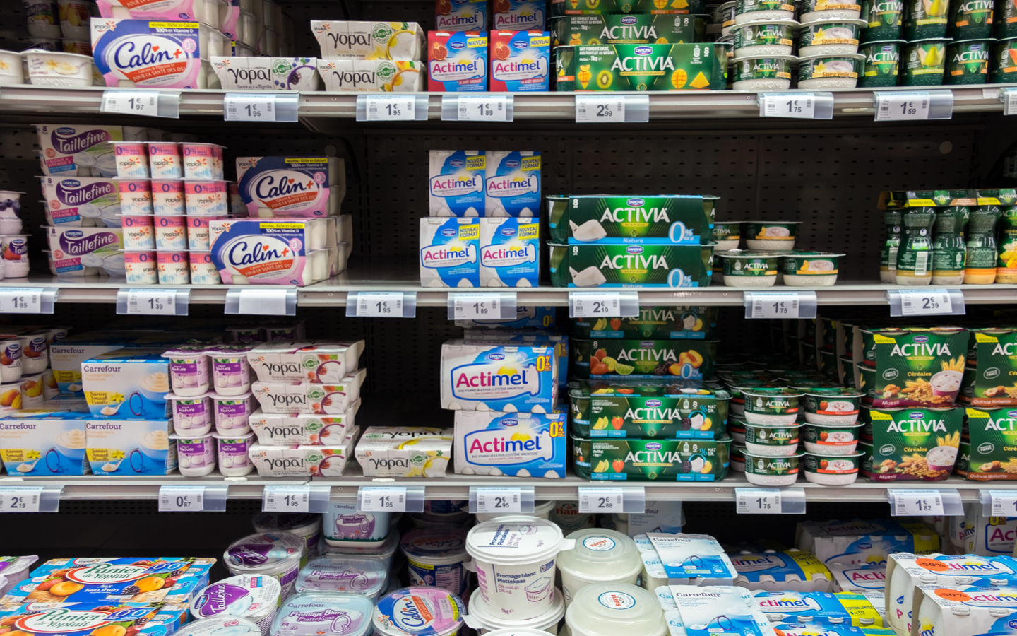 Dairy products at Aswaaq