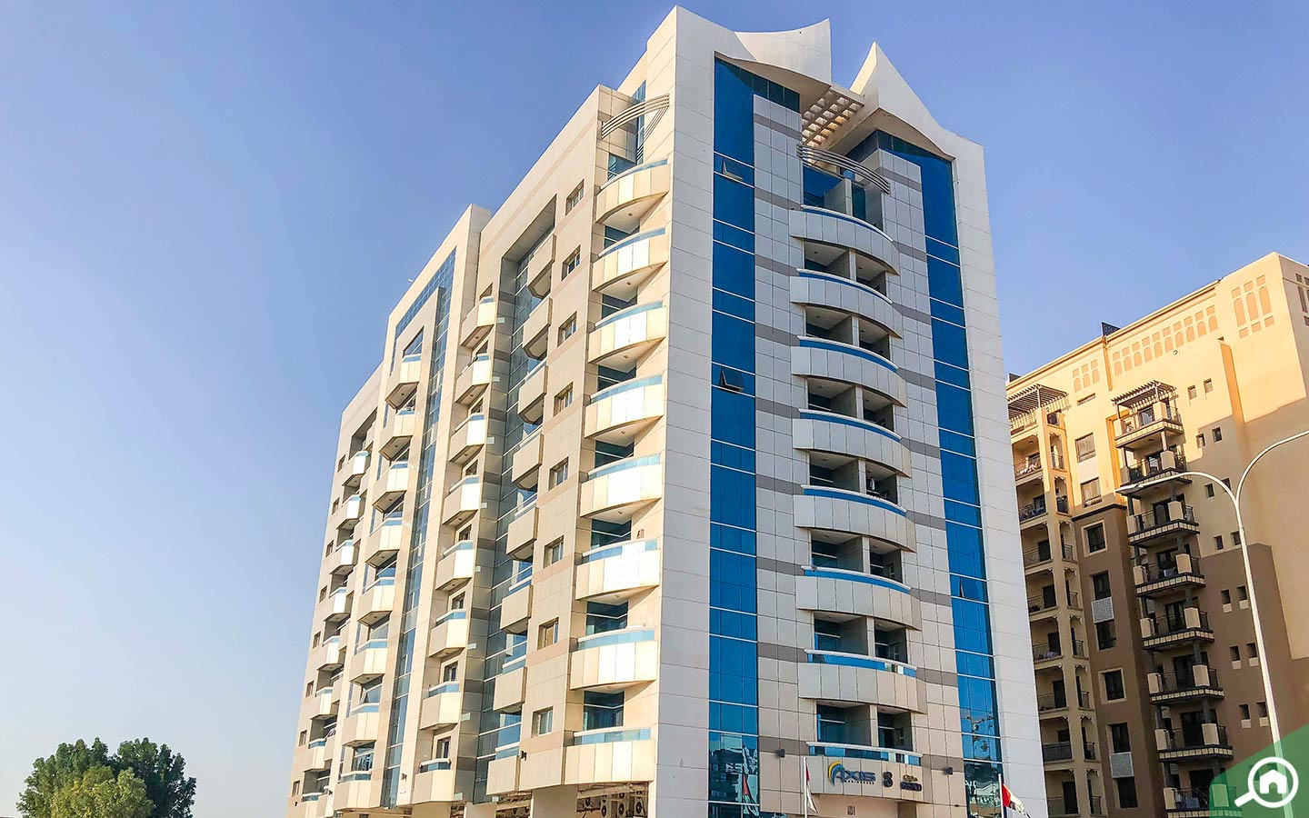 Axis Residences building to buy apartments in Dubai Silicon Oasis
