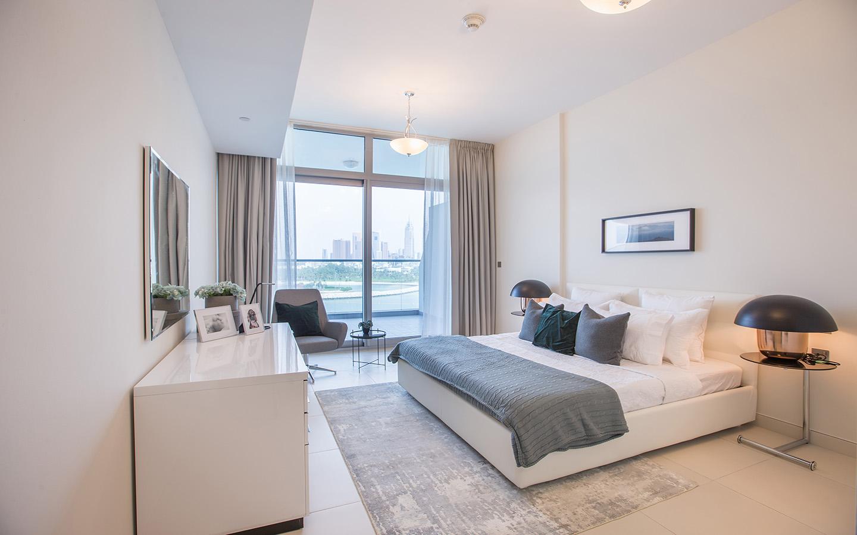 Azure Residences apartment bedroom