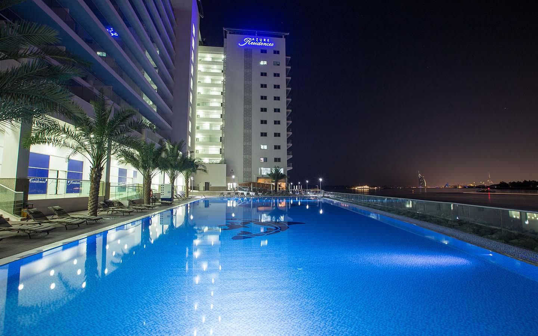 Azure Residences infinity pool