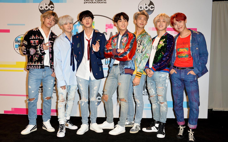 BTS is a South Korean boy band