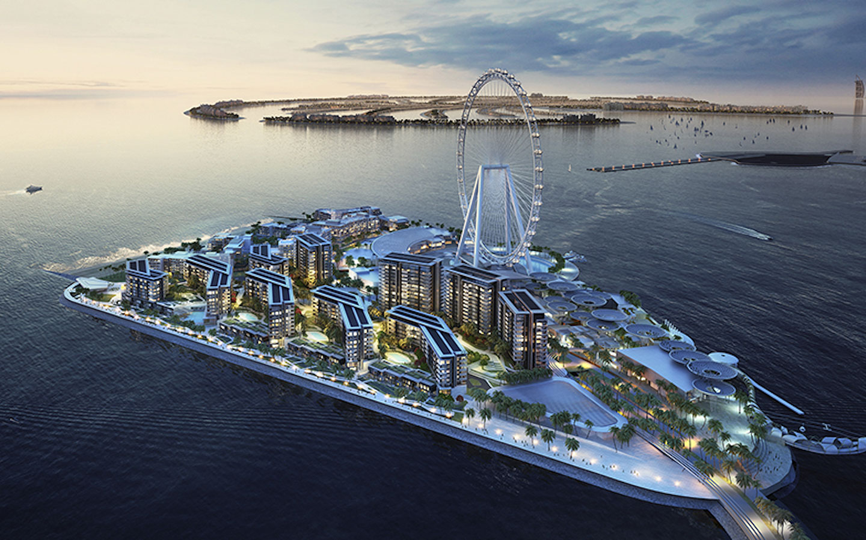 Bluewaters Island Ain Dubai