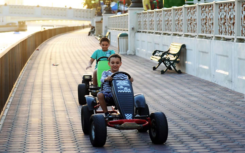 BYKY ride in Al Qasba