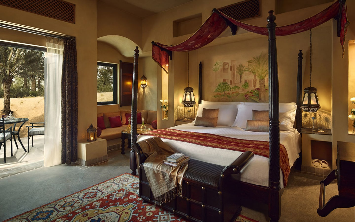 View of the rooms in Bab Al Shams Resort, which has Eid Al Adha staycation deals