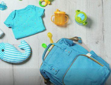 baby stuff in blue