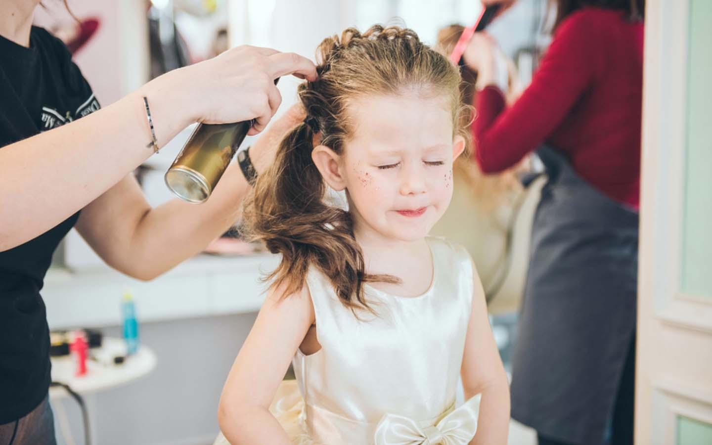 Baby Girl hair styling