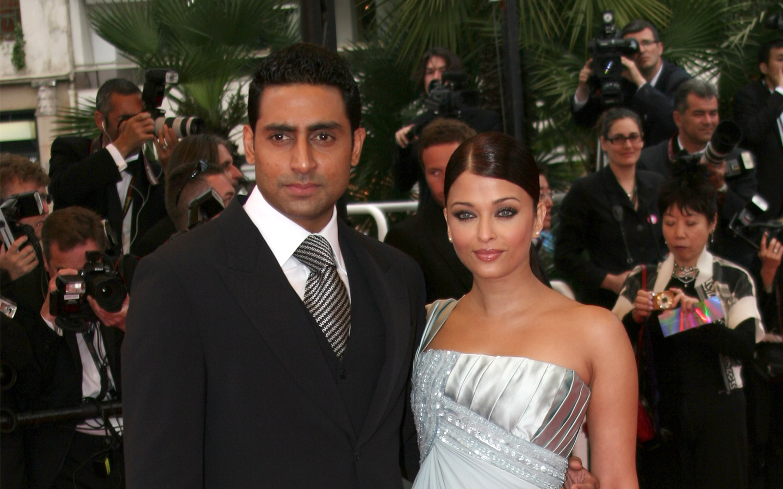 Abhishek and Aishwarya Rai Bachchan