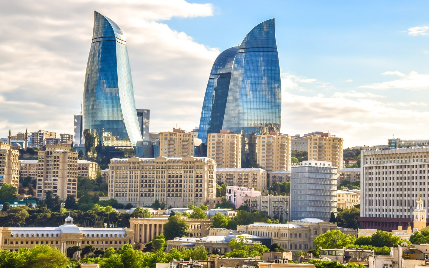 View of Baku City