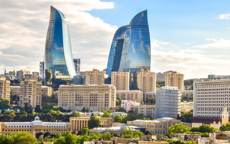 View of Baku City