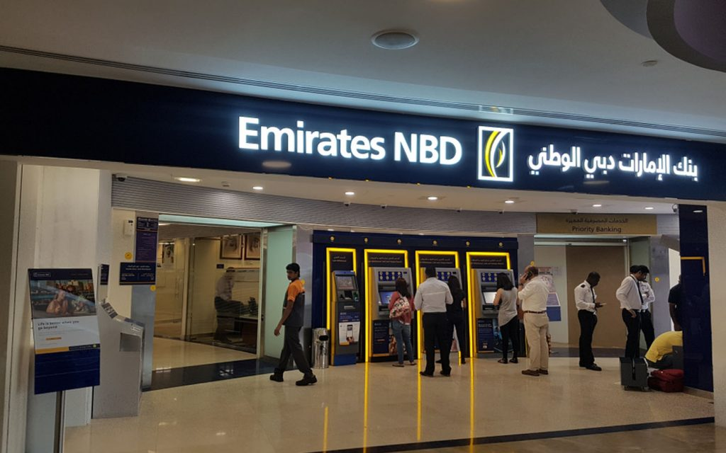 Emirates NBD branch in Fujairah