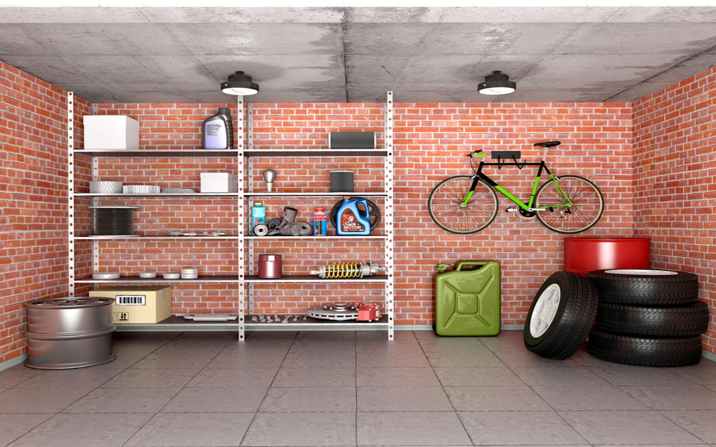 Basement Storeroom design