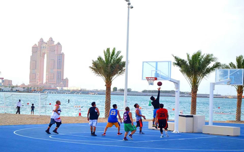 beach sports al bahar