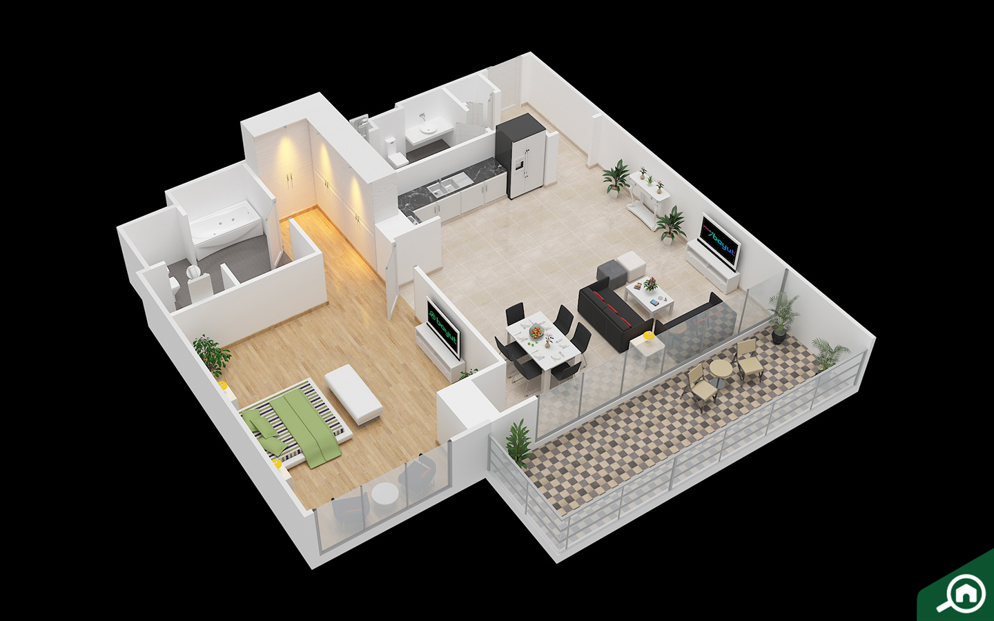 interactive floor plans of property on bayut.com
