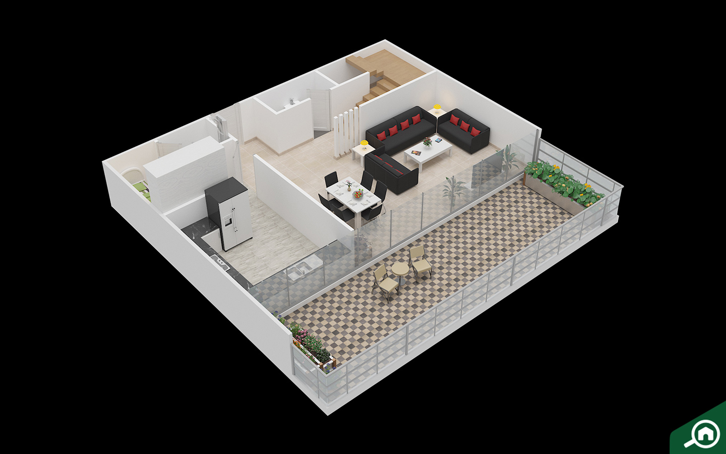 2D and 3D floor plans on bayut.com