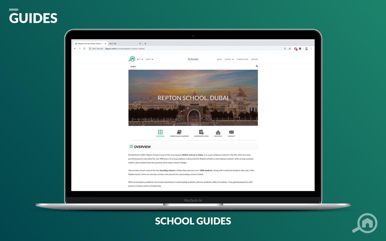 BAYUT SCHOOL GUIDES UAE