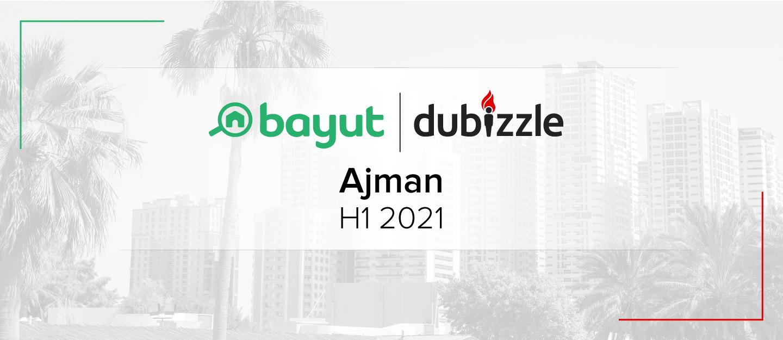 Ajman market report for H1 2021 cover