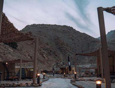 Bear Grylls Camp in RAK