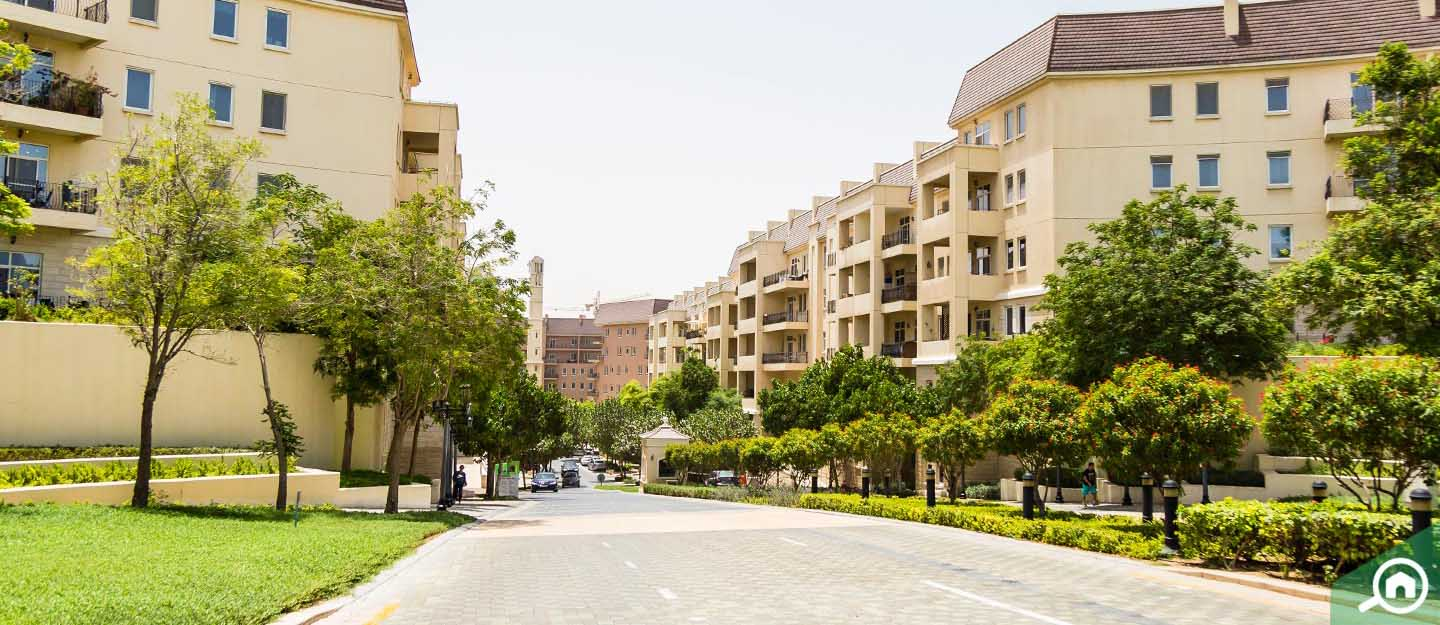 affordable apartment clusters in dubai