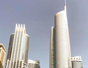 Buildings in JLT Dubai