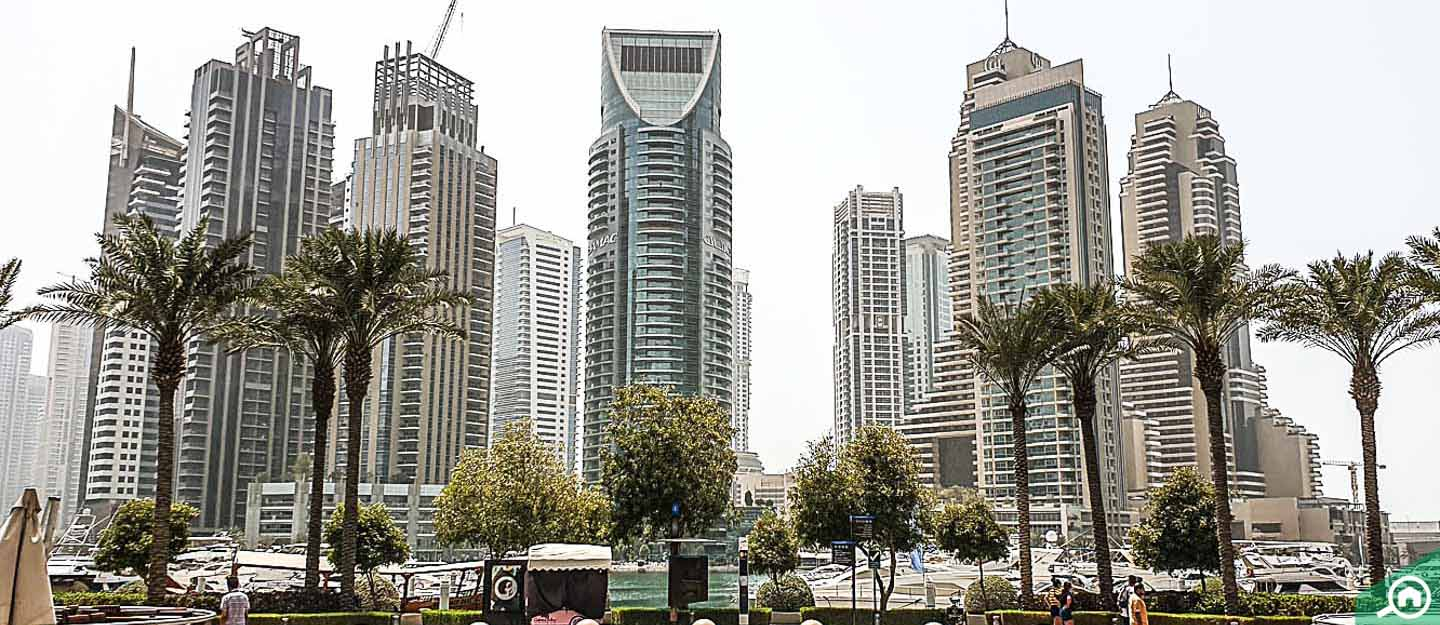 Top buildings to rent 2-bedroom apartments in Dubai Marina ...