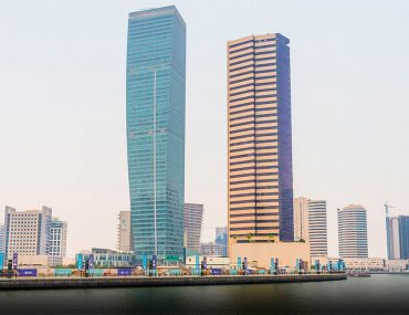 skyscrapers in business bay