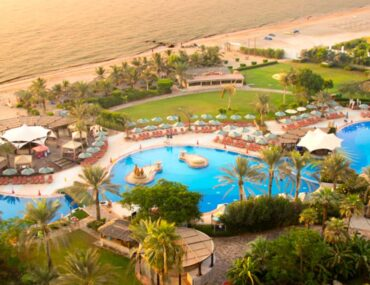 View of one of the popular Fujairah resorts