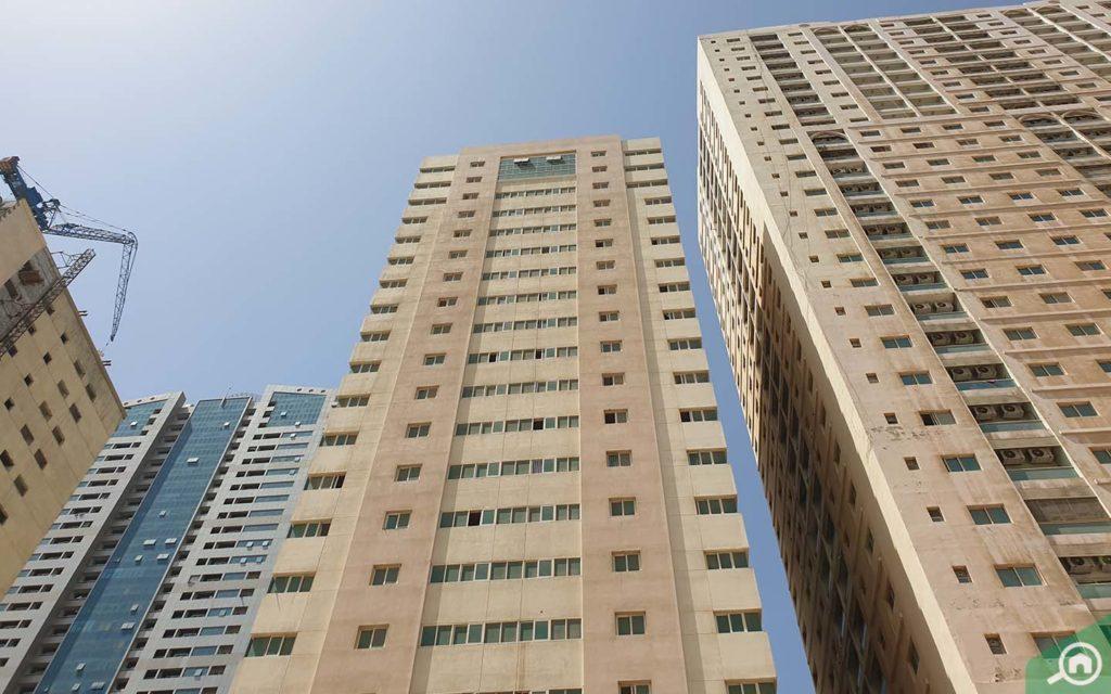 Bin Saifan Tower is one of the most popular residential buildings in Sharjah