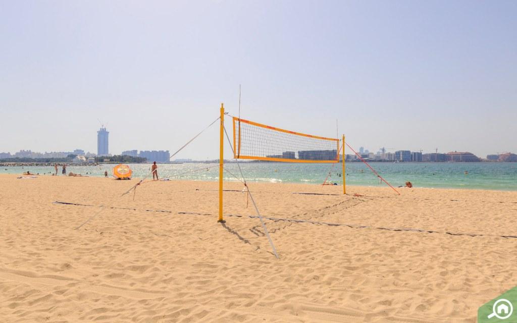 The Secret beach/ Black Palace beach/ Al Sufouh beach in Dubai
