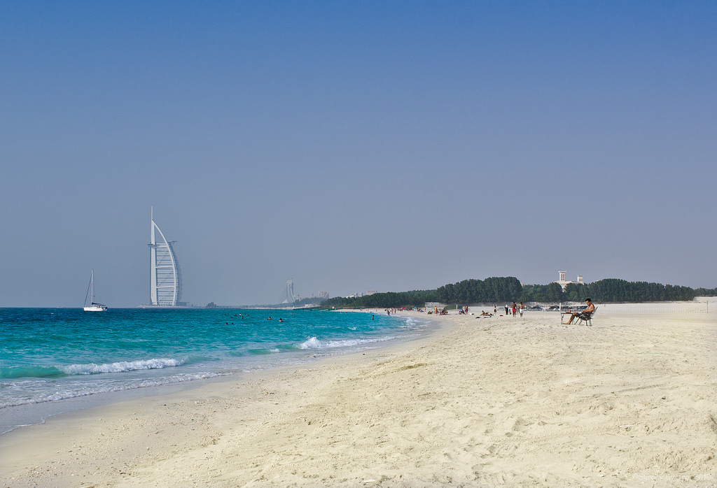 Best beaches in Dubai - Black Palace Beach