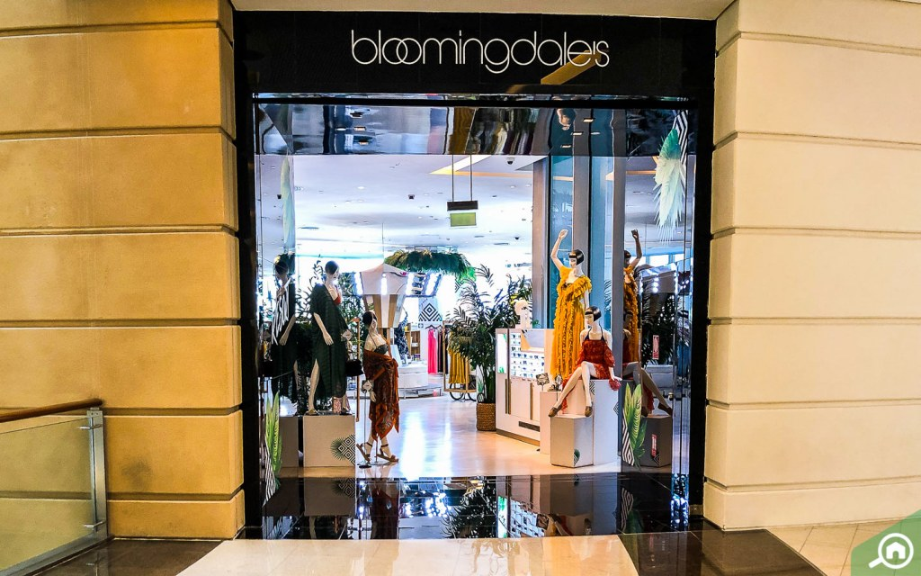 Bloomingdale flagship outlet at Dubai Mall