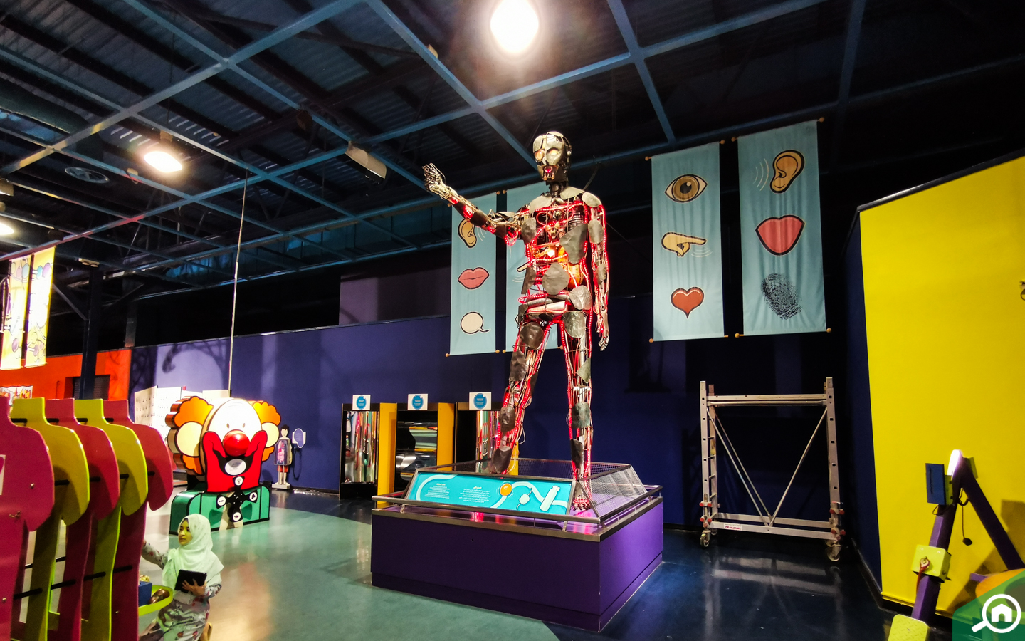 Body world at Discovery Centre Sharjah