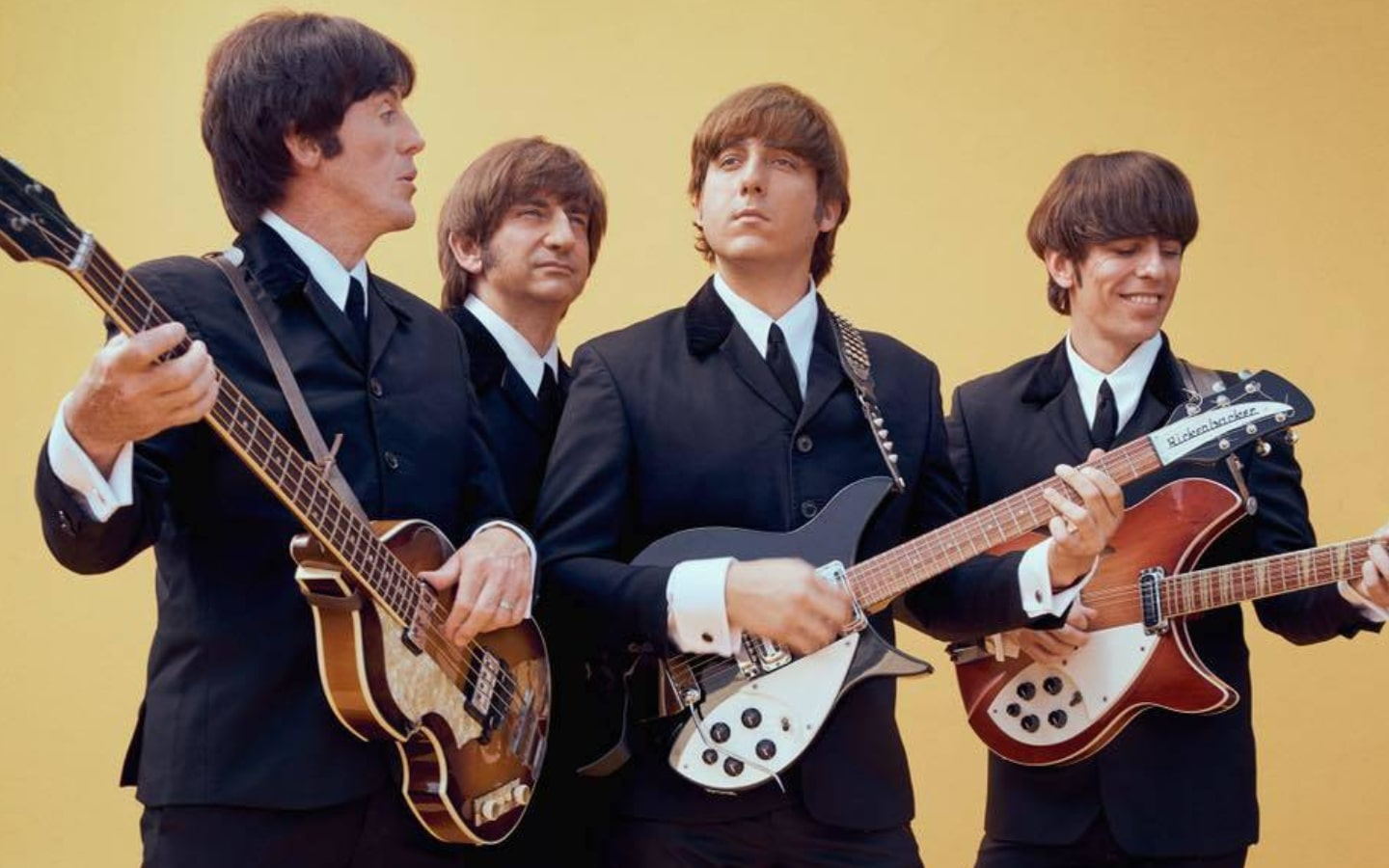 Band members of Bootleg Beatles, who will be performing at shows in Dubai Opera