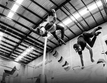 Athletes at BOUNCE X DUBAI
