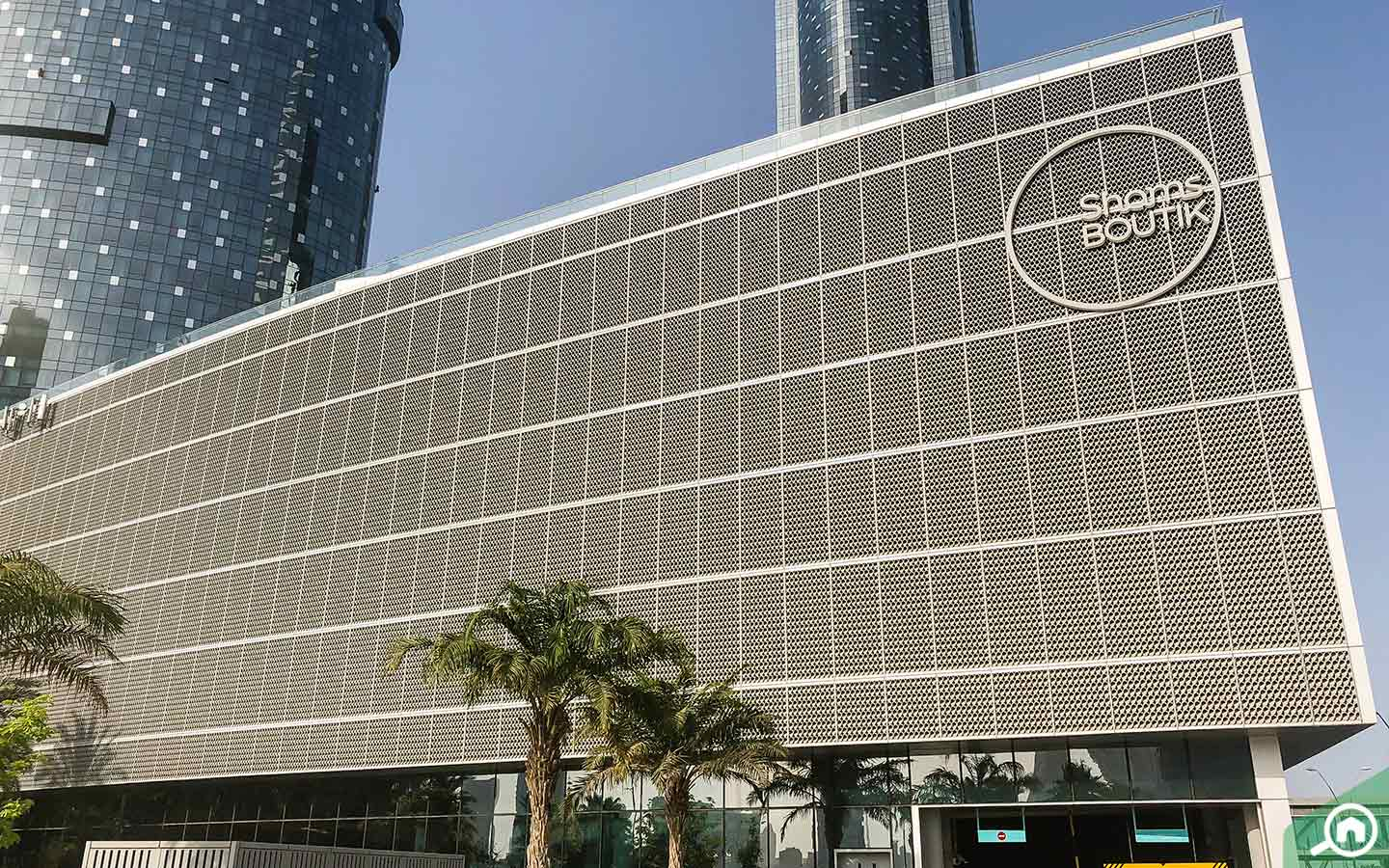 View of Boutik Mall in Al Reem Island