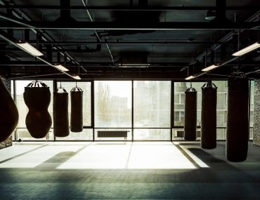 Inside view of a boxing gym in Dubai