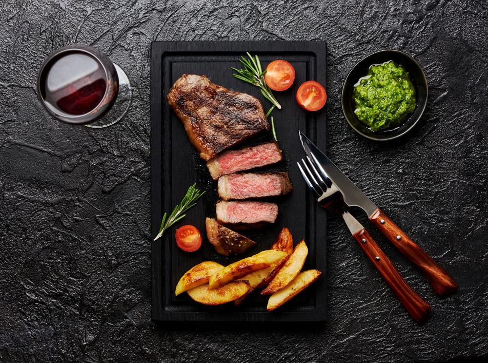 Brazilian style picanha steak