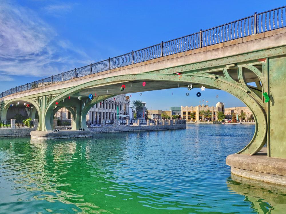 Riverland Dubai bridges