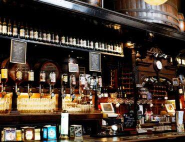 British pub interior