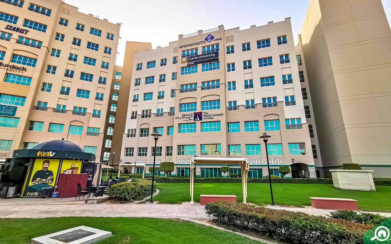 British University in Dubai in DIAC