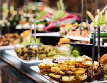 buffet spread at the best buffet restaurant in Ras Al Khaimah