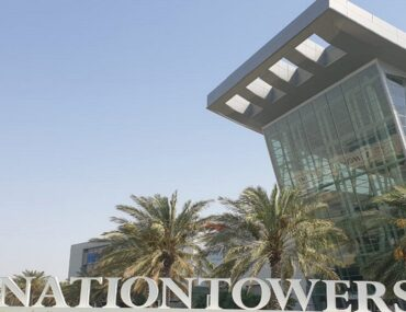 View of Nation Towers the most popular building to flats for rent in Abu Dhabi Corniche
