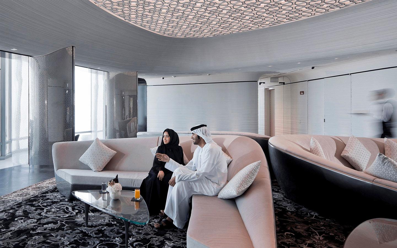 recreational centre in Burj khalifa