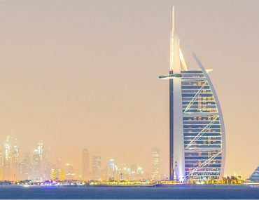 Burj Al Arab one of the Jumeirah hotels in Dubai