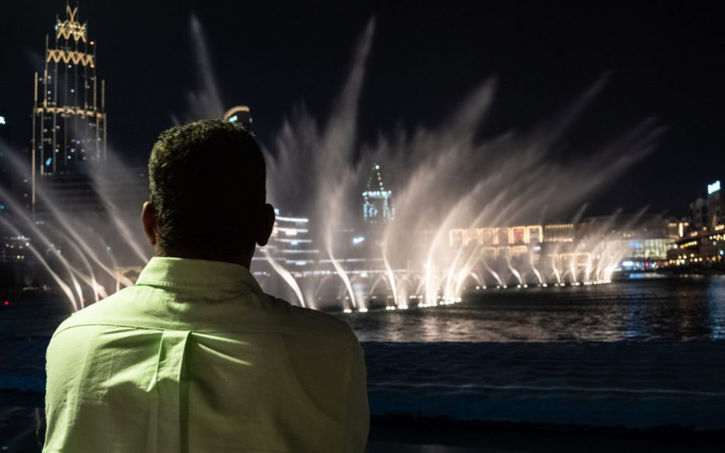 حديقة برج خليفة
