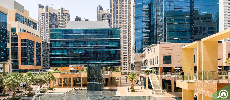 أكثر المناطق طلباً لاستئجار المكاتب في دبي