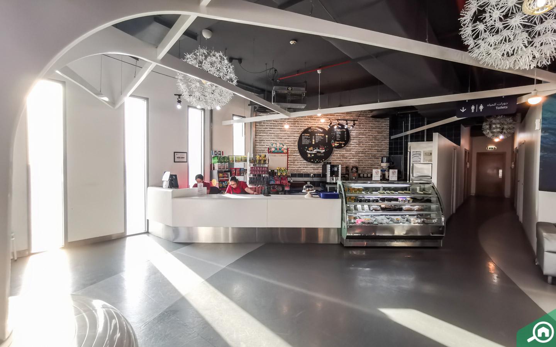 Cafe in Sharjah aquarium