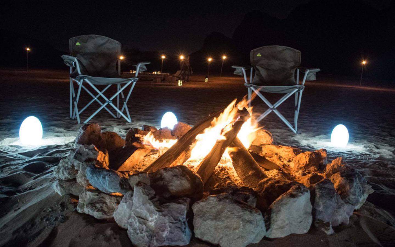 Overnight camping Mleiha