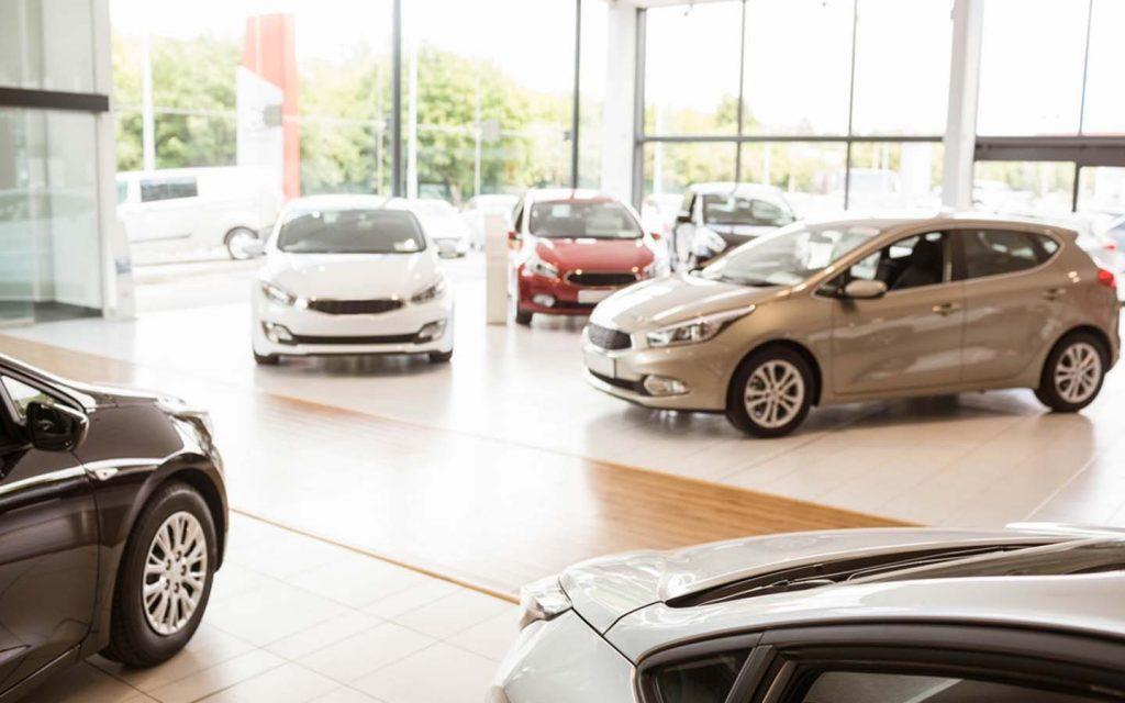 Car showroom in Dubai
