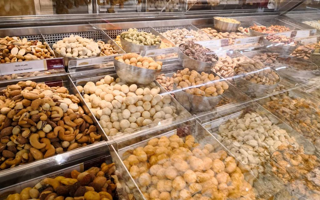Shoppers can buy a wide variety of dry fruits at Carrefour outlets in Abu Dhabi