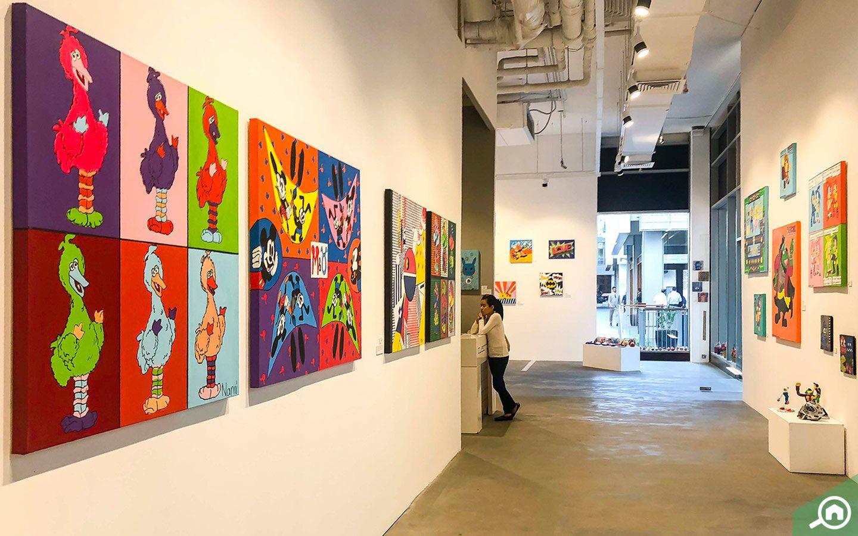 Cuadro Fine Art Gallery is an exclusive contemporary art platform in Dubai.